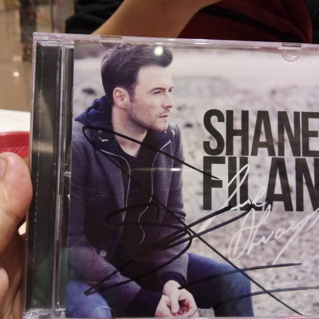 Shane Filan Love Always Album with Signature on Carousell