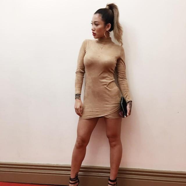 Showpo long sleeve dress