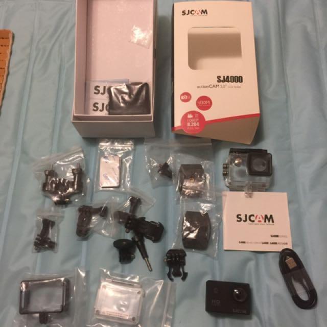 降價!Sjcam 4000黑色行車記錄器!過年特價