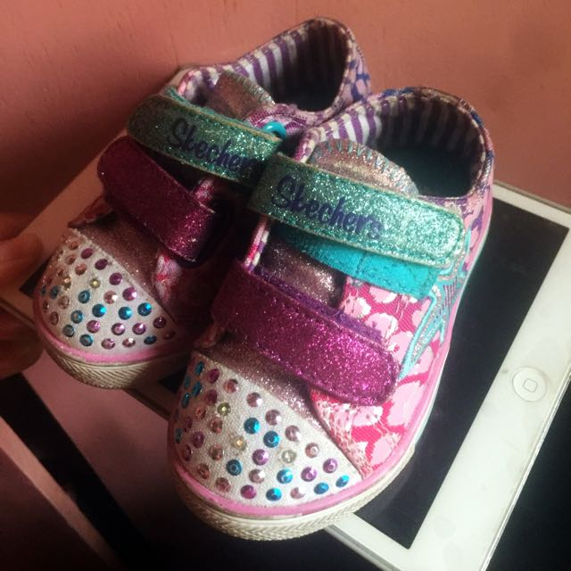 Skechers twinkle toes with lights