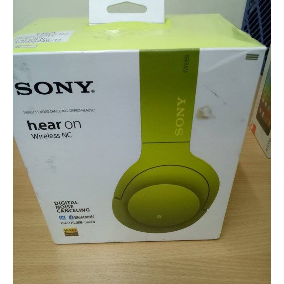 Sony MDR-100ABN Hi Resolution Audio Headphone (Yellow)