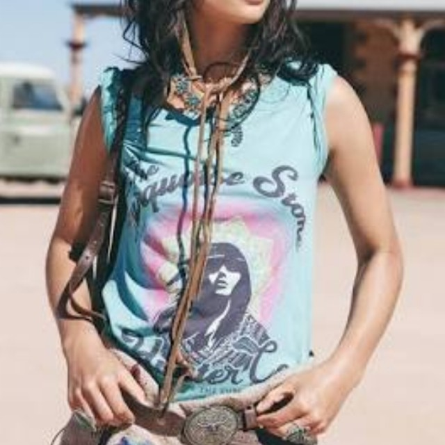 Spell and The Gypsy Turquoise Stone Tee