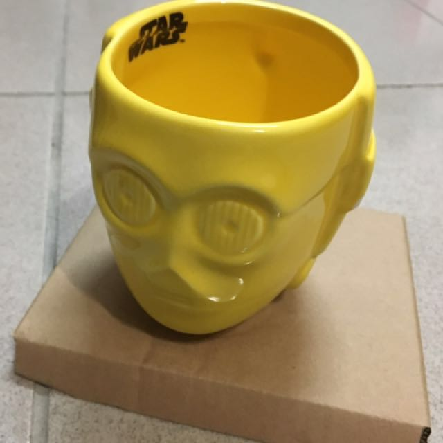 STAR wars 星戰馬克杯3PO(有瑕)