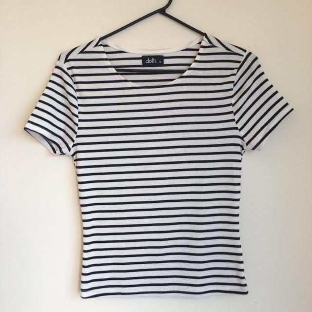 Stripy top