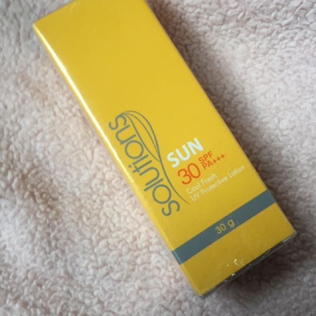 Suncreen SPF 30 (sealed)