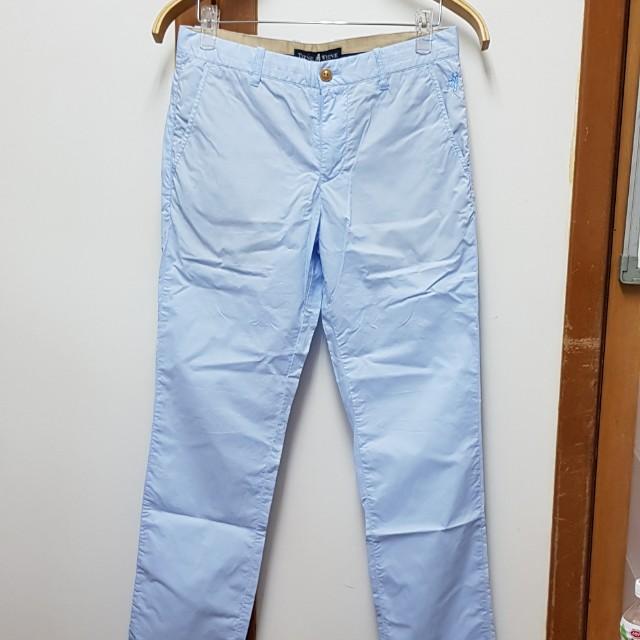 TEENIE WEENIE水藍色長褲(M)