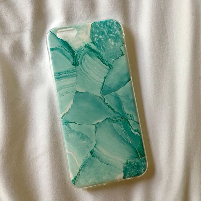Turquoise Marble Soft Case (iPhone 6/s)