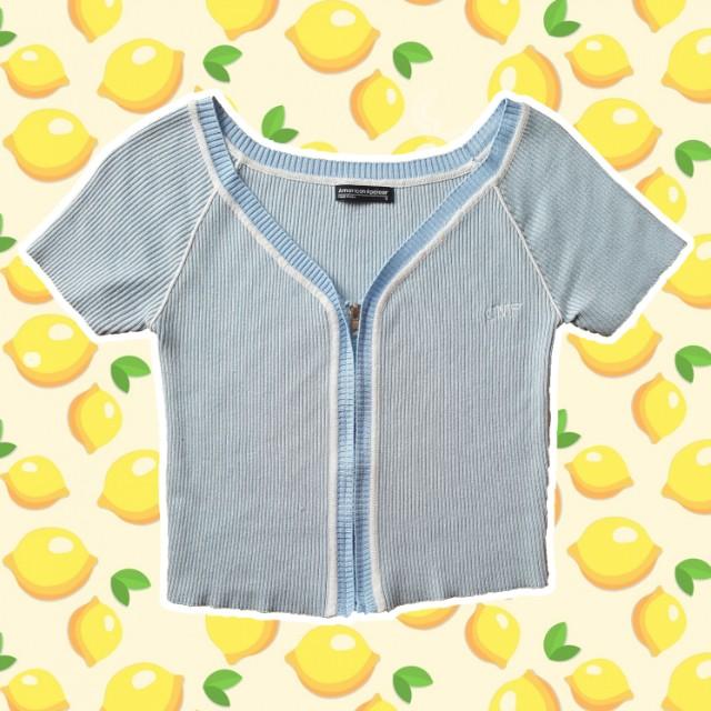 UNIF - Blue Zip Top