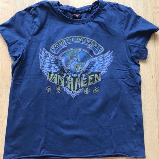 Vintage Inspired Van Halen Band Tee