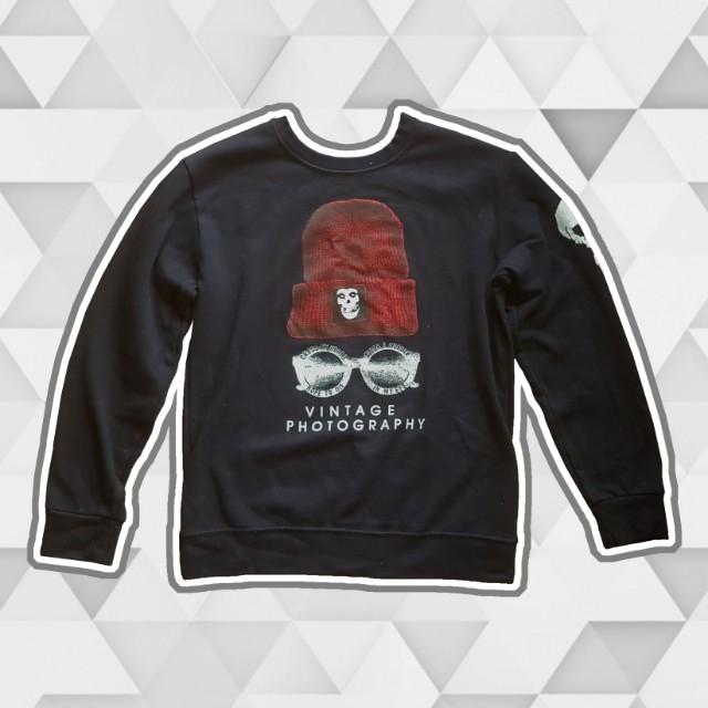 'Vintage photography' Korean sweatshirt