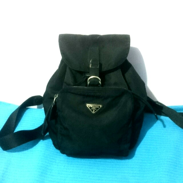 d20d825b9108 ... real vintage prada mini backpack preloved womens fashion bags wallets  on carousell 9f7ff 7d207 ...