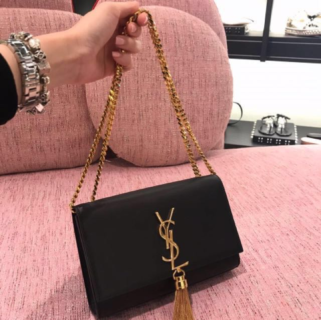 905f71908fb9 YSL Kate Sling Bag small black - GHW