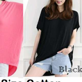Cute blouse. Warna tinggal black aja