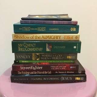Christian Books (1-4)
