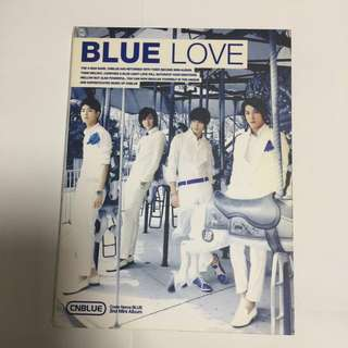 CNBLUE Blue Love 專輯
