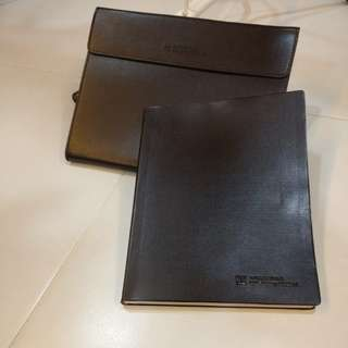 UOL Daily Planner Dairy Book with Case
