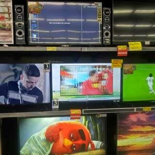 LED TV berbagai merk dan terbaru bisa di cicil proses 3 menit ajaa