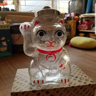 日本廣田硝子玻璃招財貓