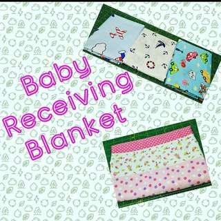 Baby Receiving Blanket Preorder