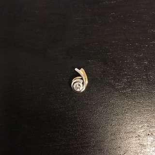 Real Diamond pendants 18k 鑚石吊墜