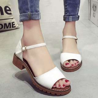 [PO] Women Buckle Chunky Sandals