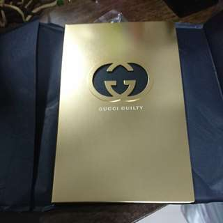 Gucci Guilty Gold Cover NoteBook
