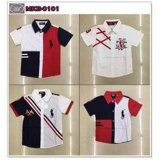 CODE: MKB-0101 Polo for Kids