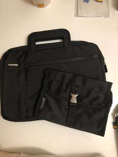Sony Laptop Bag and Travel Accessories