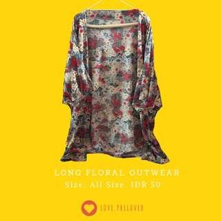 Long Floral Outwear