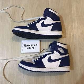 Nike Air Jordan 1 Storm Blue