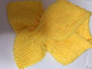 小童牛角巾(多色:粉紅,黃,藍,白,灰,紅;料:BB冷)