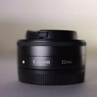 CANON EOS-M 22MM F2