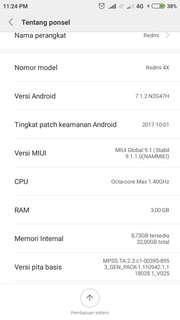 Xiaomi 4X 3/32GB