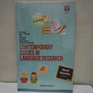 Contemporary Issues in Language Research
