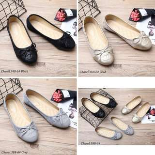 Chanel Flat Shoes 388-6