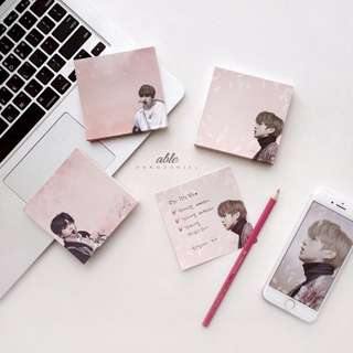 [Pre Order] Kang Daniel Pinky Sticky Notes