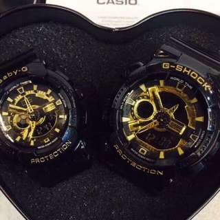 COUPLE G-SHOCK AND BABY-G❤️