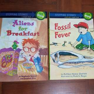 Step into reading - chapter books