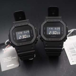Limited Pieces Casio Gshock DW5600BB full Black Watch Stealth FREE DELIVERY DW5600