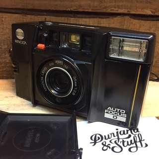 Minolta Autofocus D film camera