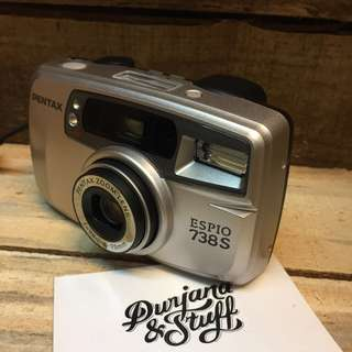 Pentax Espio 738S pocket film camera