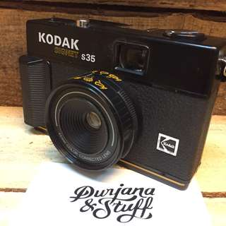 Kodak Signet S35 film camera
