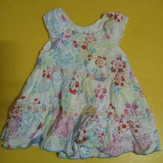 REPRICED! Floral baby dress
