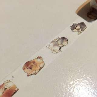 (RESTOCKED) Shiba inu Washi Tape