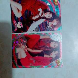 Candy pop twice 閃卡 專輯卡