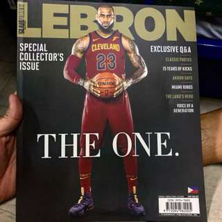 LEBRON SPECIAL EDITION MAGAZINE! Steal!!