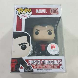 Legit Brand New With Box Funko Pop Marvel Punisher Thunderbolts Walgreens Exclusive