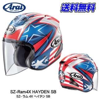 HAYDEN SB Arai Ram4X R4X Design