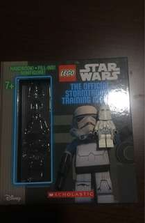 Lego Minifigure + Star Wars Storybook