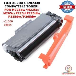 FUJI XEROX CT202330 COMPATIBLE TONER FOR M225dw M225z M265z P225d P225db P225dw P265dw